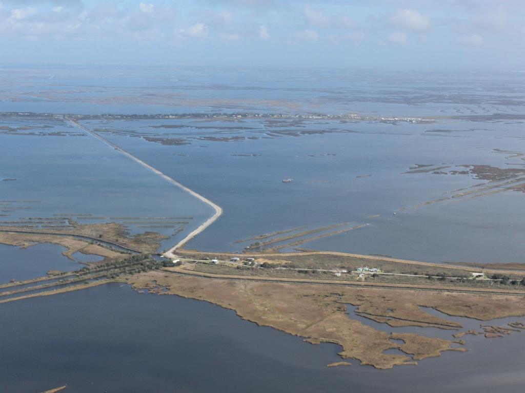 Louisiana sea level rise
